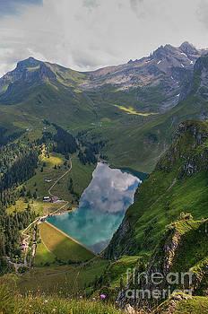 Lake Bannalp by Caroline Pirskanen
