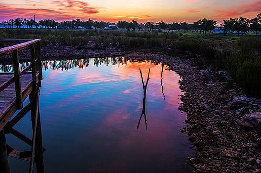 Lake Brownwood Sunrise 2 by Bob Marquis