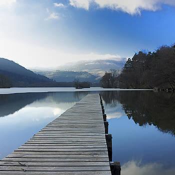 BERNARD JAUBERT - Lake Chambon. Auvergne. France