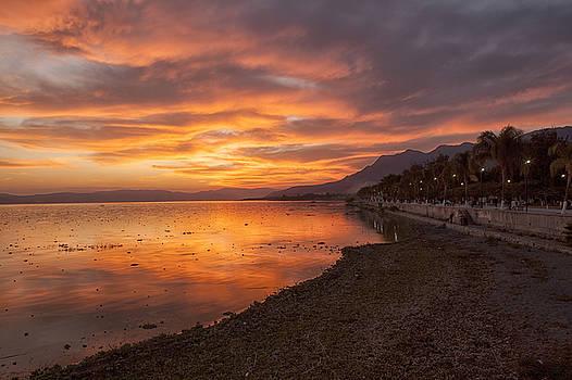 Lake Chapala Sunset by Eunice Gibb