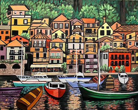 Lake Como Italy by Anthony Falbo