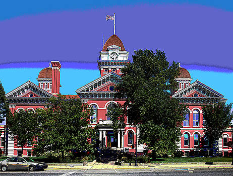 Lake County Courthouse by Charles Shoup