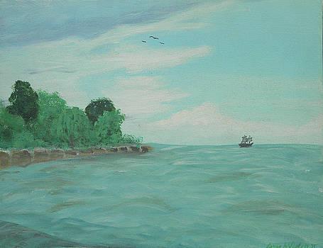 Lake Erie by James Violett II