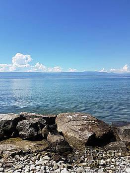 BERNARD JAUBERT - Lake Geneva. France