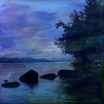 Lake Geoerge Rocks by Linda Seifried