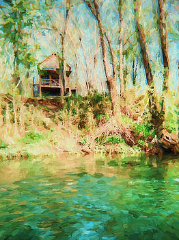 Barry Jones - Lake Hideaway - Landscape