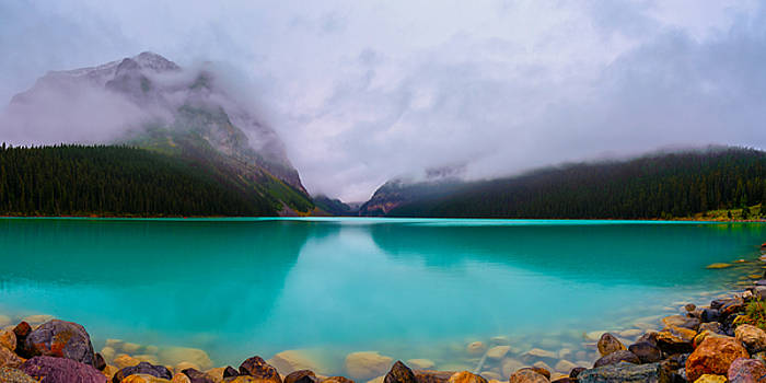 Lake Louise by Nebojsa Novakovic
