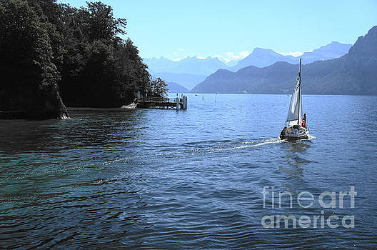 Lake Lucerne by Therese Alcorn