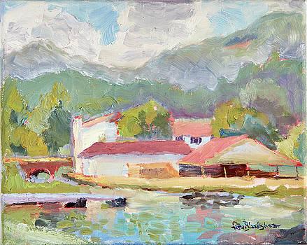 Lake Lure Public Beach House by Lisa Blackshear