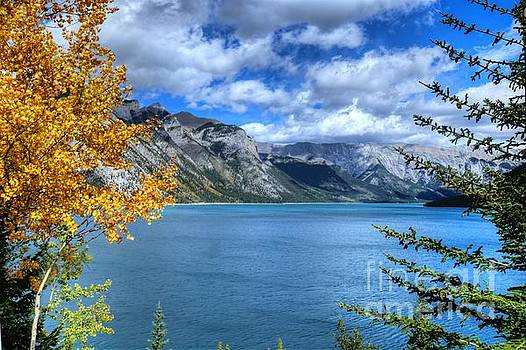 Lake Minnewanka Banff National Park Alberta Canada by Wayne Moran