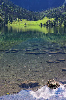 Lake Obersee Fischunkelalm by Angela Doelling AD DESIGN Photo and PhotoArt