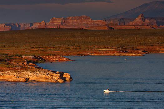 Lake Powell by Jonas Wingfield