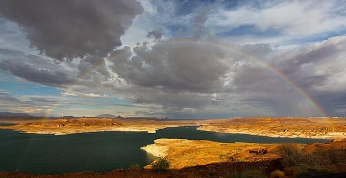 Lake Powell Rainbow by Jennifer Ansier