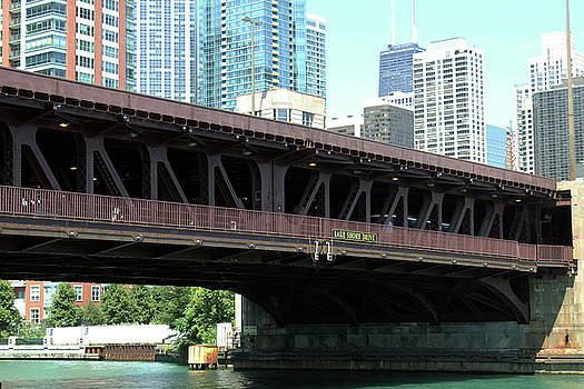 Lake Shore Drive Bridge by Carolyn Ricks