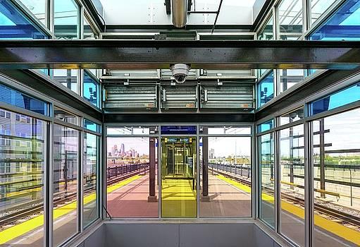 Lake Street Light Rail Station  by Jim Hughes