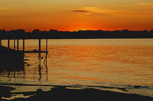 Lake Sunset by Diana Nigon