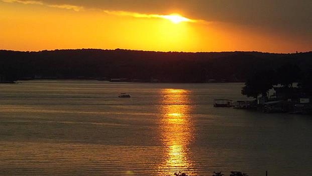 Lake Sunset  by Don Koester