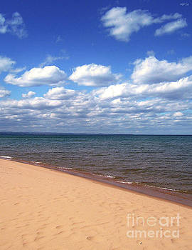 Lake Superior In Summer by Phil Perkins