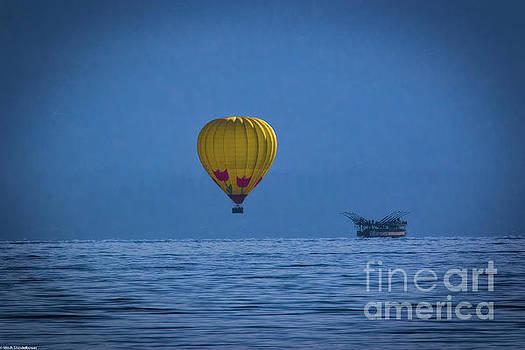 Lake Tahoe Balloon by Mitch Shindelbower