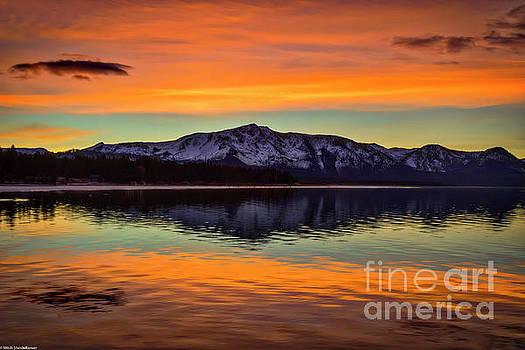 Lake Tahoe Glow by Mitch Shindelbower