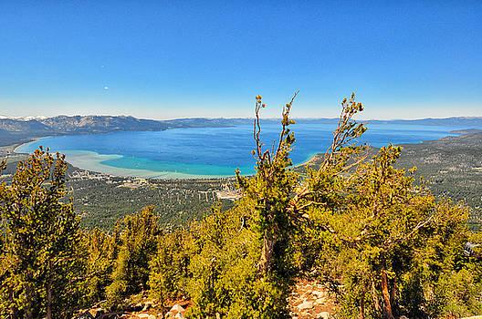 Lake Tahoe Overlook - South Lake Tahoe - California by Bruce Friedman