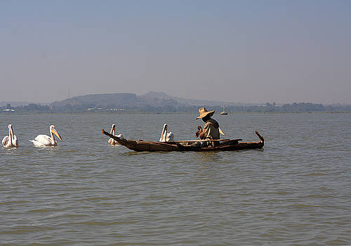 Lake Tana Fisherman by Aidan Moran