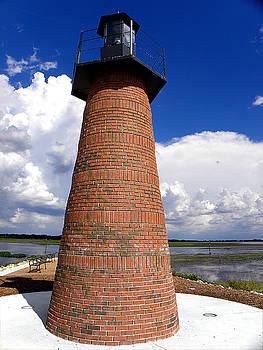 Lake Toho Lighthouse 001  by Chris Mercer