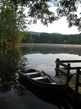 Lake Vanare by Lali Partsvania