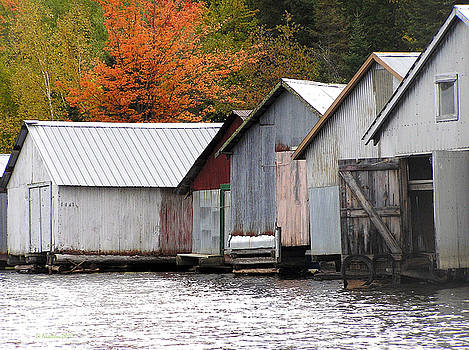 Li Newton - Lake Vermillion Boathouses