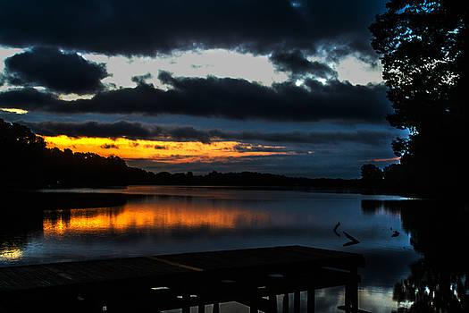 Barry Jones - Lakeside at Dawn - Sunrise