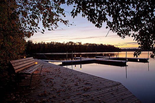 Adam Pender - Lakeside in the North Woods