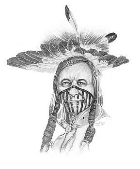 Lakota Visor Headress by Wayne Pruse