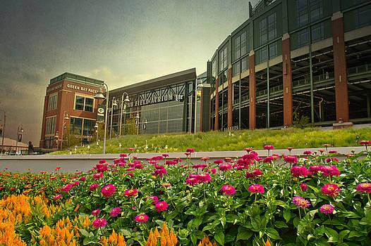 Lambeau Field in Summer by Joel Witmeyer