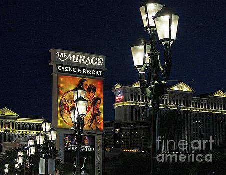 Lamp Lights - Vegas by Cheryl Del Toro
