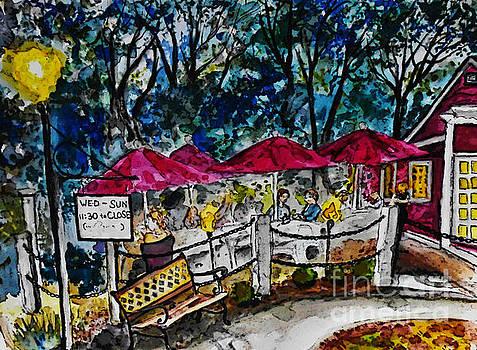 Lamp-lit Pub by Emily Michaud