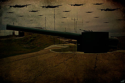 Chris Lord - Lancasters Over Newhaven March 30th 1944