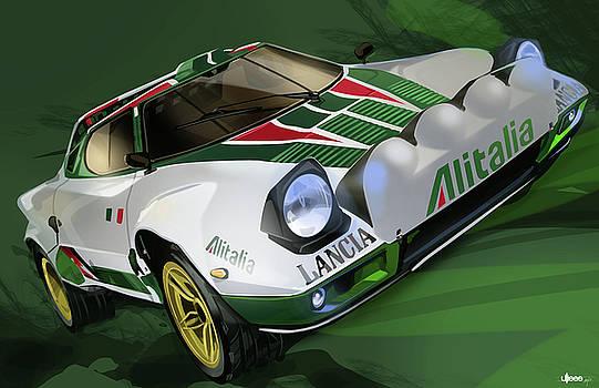 Lancia Stratos HF Rally Car by Uli Gonzalez