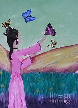 Land of Butterflies by Karleen Kareem