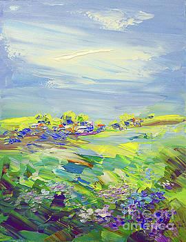 Land of Milk and Honey by Tatiana Iliina