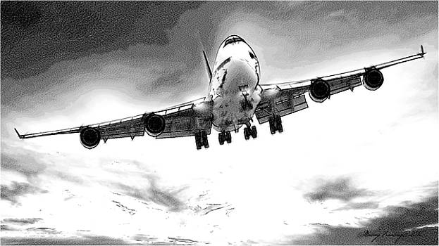 Boeing 747 by Maciej Froncisz