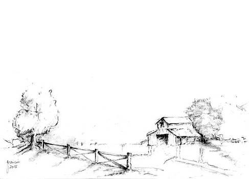Landscape by Foqia Zafar