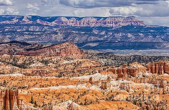 Landscape Layers by Peggy J Hughes