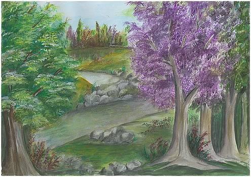 Landscape by Lincy Dcruz