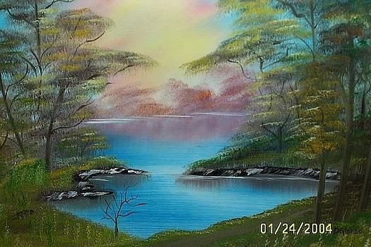 Landscape Pond by Dean Glorso