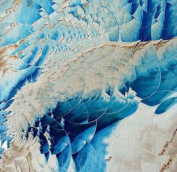 L'ange Sur Le Glacier by Danielle Arnal