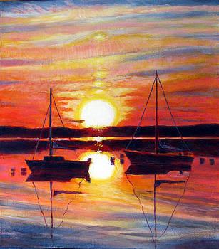 Languid Sunset by Michael Gaudet