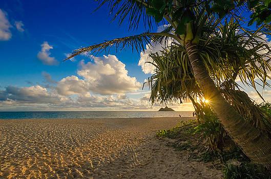 Lanikai Beach Sunrise by Riddhish Chakraborty