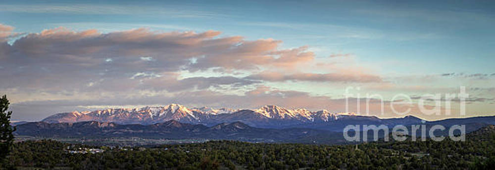 LaPlata Mountains, Colorado by Joan McCool