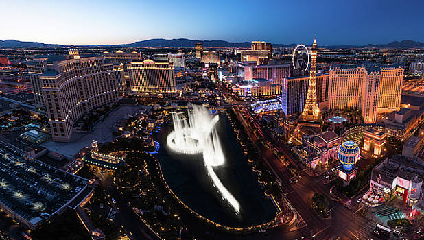 Las Vegas Lights by Steve Gadomski