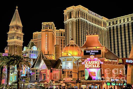 Las Vegas Night Life by Mariola Bitner